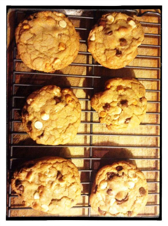 Nothing like warm cookies